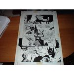 Original Bernie Wrightson Art - Batman: The Cult #1