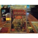 Avengers 1 CGC 5.0 Marvel Comic Off White Pages 1963
