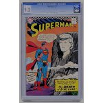 Superman #194 CGC 9.2 NM- ow/white pages  DC  1967