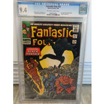 FANTASTIC FOUR #52 cgc 9.4 1st Appearance BLACK PANTHER
