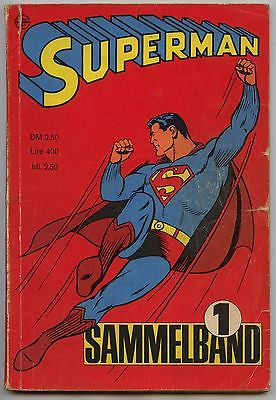 Superman 1966 Sammelband 1 Heft 1-4 komplett Ehapa  kompletter Jahrgang Original
