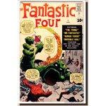 Fantastic Four #1 1st Fantastic Four 1st Mole Man Kirby