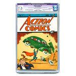 ACTION COMICS #1 CGC 7.0 1st Superman Holy Grail DC Golden Age