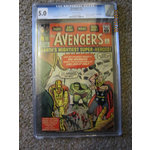 AVENGERS #1  CGC 5.0  Awesome SILVER AGE Find from Marvel  WOW
