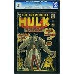 Hulk #1 CGC 0.5 Marvel 1962 WHITE pages Avengers Movie cm