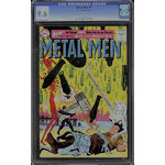 METAL MEN #1 CGC NM+ 9.6 - Looks 9.8 - Scarce KEY DC - 1963 - Amazing Condition