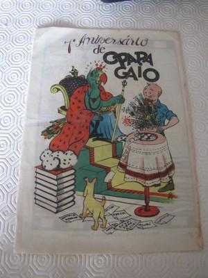 TINTIN HERGE VERY RARE 1942 O PAPAGAIO PORTUGUESE  NUMBER 366 MAGAZINE