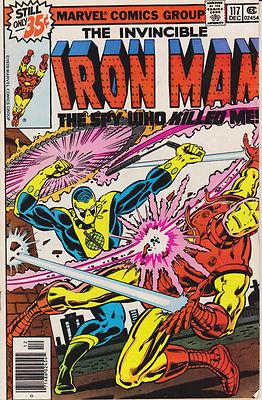 Iron Man #117 118 119 120 121