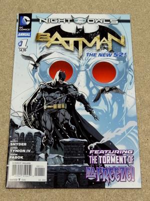 *BATMAN ANNUAL # 1 - NEW 52 NIGHT OF THE OWLS*
