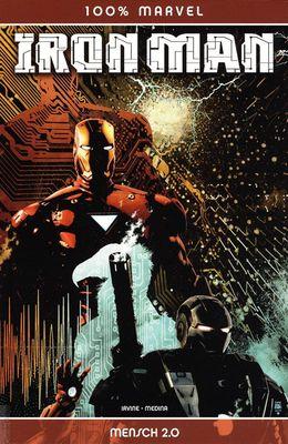 Marvel Panini Comic - 100% Marvel #68 - Iron Man: Mensch 2.0