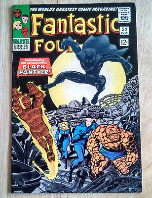 Fantastic Four 52-1st Black Panther 9.2-Could Be Pressed To 9.4 CGC/PGX WORTHY