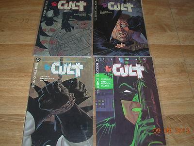 BATMAN: THE CULT COMPLETE 4 ISSUE PRESTIGE SERIES-STARLIN-WRIGHTSON