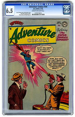 Adventure Comics #194 CGC 6.5 Superboy DC Golden Age Comic Superman
