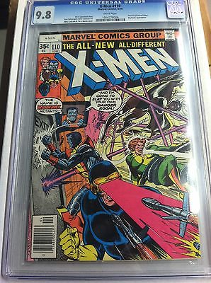 X-Men (1963) #110 CGC 9.8 - Uncanny