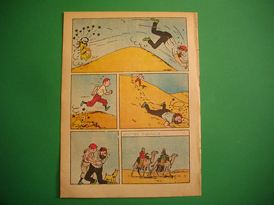 Tintin - Le Crabe aux Pinces D'or - O Papagaio #394 - 1942
