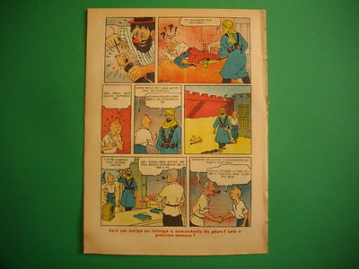 Tintin - Le Crabe aux Pinces D'or - O Papagaio #395 - 1942