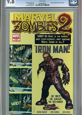 MARVEL ZOMBIES 2 #3 CGC 9.8 IRON MAN TALES OF SUSPENSE #39 COVER