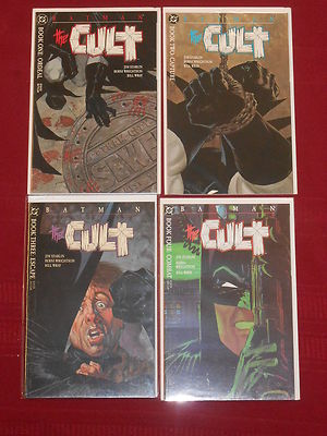 Batman: The Cult #1, 2, 3, 4 NM Complete Berni Wrightson, Jim Starlin