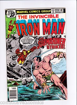Iron Man #120 Near Mint-(9.2)