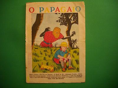 Tintin - Tintin au Congo - O Papagaio - Seulement la Couverture