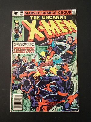 UNCANNY X-MEN # 133 bronze age Marvel xmen John BYRNE art
