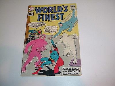 WORLD'S FINEST #120 - 1961 SILVER AGE DC COMICS-SUPERMAN & BATMAN VG(4.0)