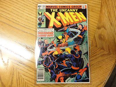The uncanny X-men #133 NM- Wolverine cover super nice comic.