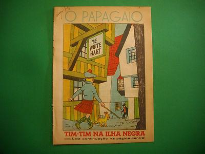 Tintin - L'Ile Noir - O Papagaio #332 - 1941