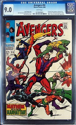 Avengers #55 CGC 9.0 (VF/NM) First Ultron - Priced to Sell
