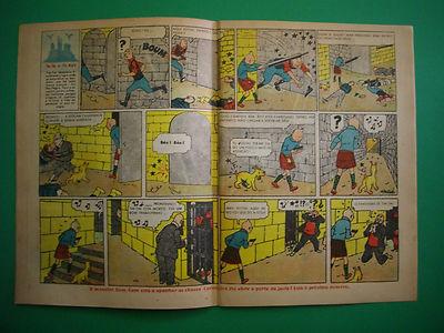 Tintin - L'Ile Noir - O Papagaio #345 - 1941