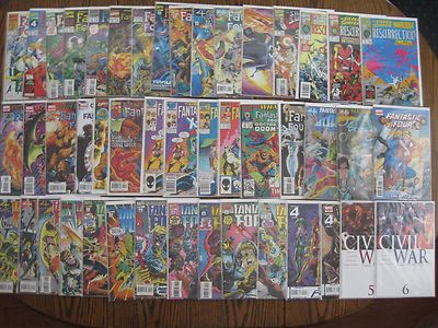 Fantastic Four Unlimited, Plus More (lot of 46) VG-VF