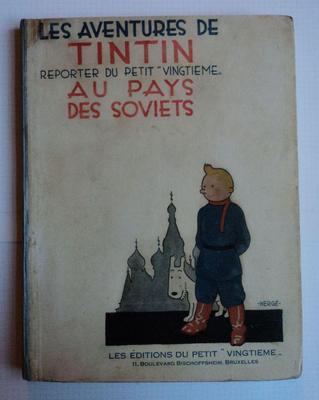 TINTIN Reporter Au Pays Des Soviets - 1930
