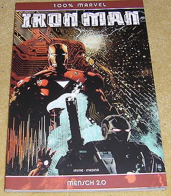 100% Marvel - Iron Man - Mensch 2.0