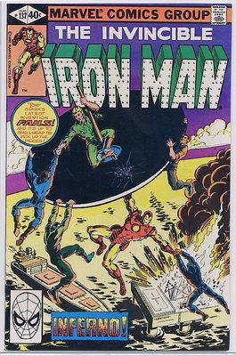Iron Man #137 8/80 Marvel Comics NM+ 9.6 No Reserve