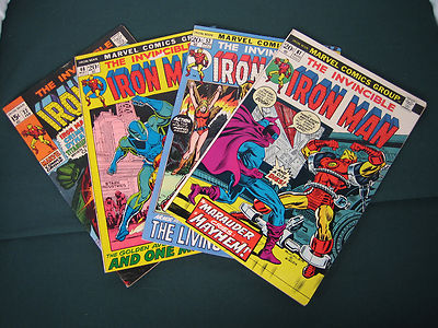 The Invincible Iron Man # 22, 46, 52 & 61 Guardsman, Marauder