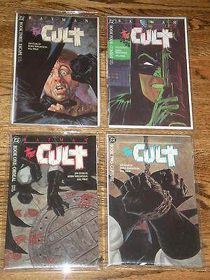 Batman:  The Cult  Books 1-4 Mint Condition
