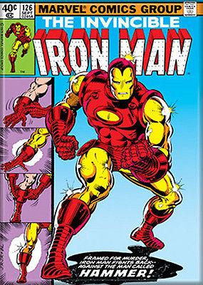 "Marvel Comics "" The Invincible Iron Man #126""  Comic Book Cover MAGNET"