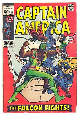 Captain America #118 (Oct 1969, Marvel)