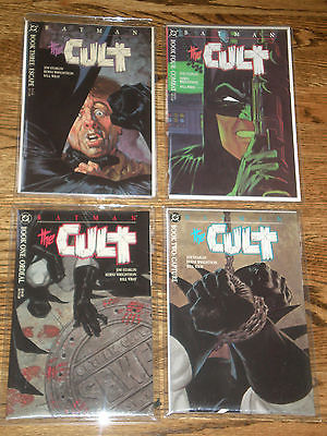 Batman:  The Cult  Books 1-4 Mint Condition