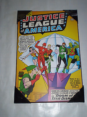 Dc Comics Wall Art comicsvalue - dc comics justice league of america jla #4 1961