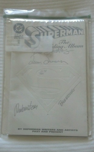 Superman: The Wedding Album #1 (Dec 1996, DC) Autographed w/ coa