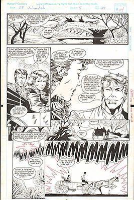 FANTASTIC FOUR UNLIMITED #5 PAGES 34 & 37 COMIC ORIGINAL ART HERB TRIMPE