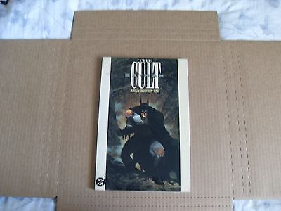 BATMAN The Cult DC Starlin Wrightson Wray 1991 Graphic Novel