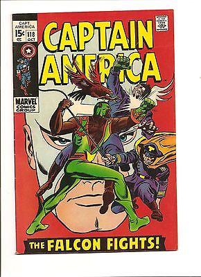 CAPTAIN AMERICA #118 1969 2nd FALCON