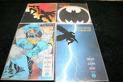 Batman the Dark Knight Returns Set of 4 TPB Comics 1st edition Fine