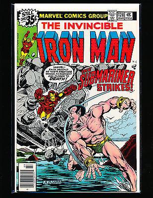 Iron Man # 120    NM- Cond.