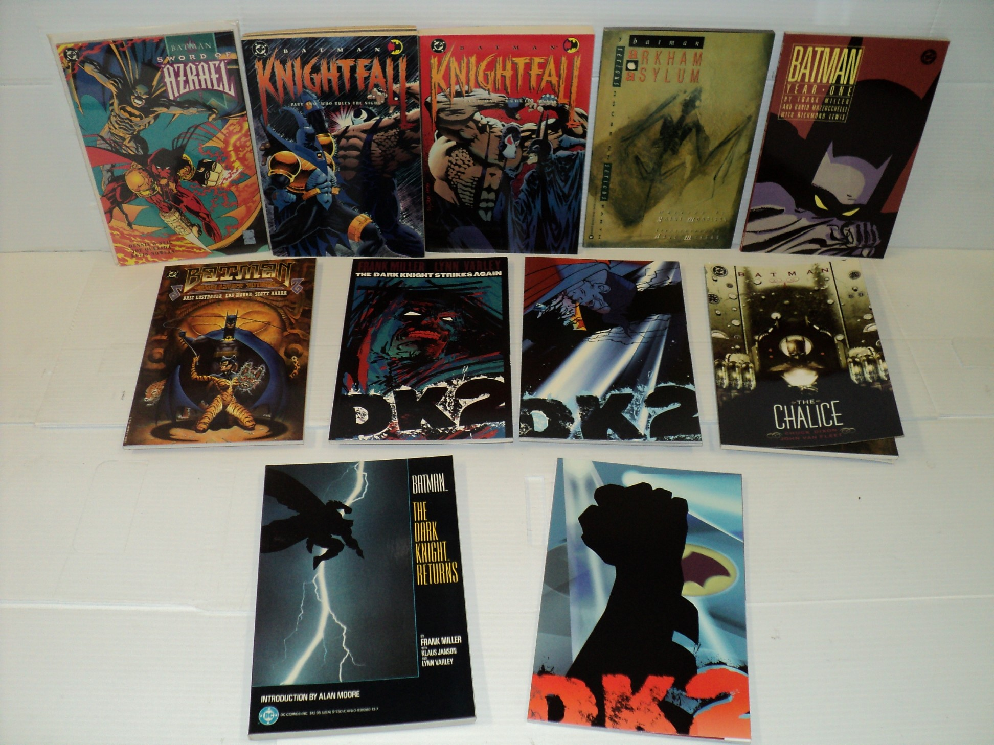 Batman TPB MEGA SET The Dark Knight Returns, Year One, more 11 books (bd-6267)