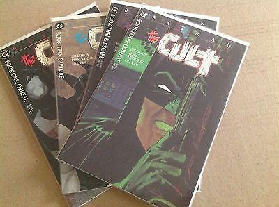 Batman: The Cult #1-4 NM Condition Complete Set
