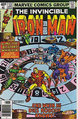 Iron Man #123 124 125 126 127