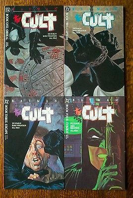 BATMAN the CULT Lot Of 4 COMIC BOOKS NM+ ISSUES 1-4  Beautiful Condition DC